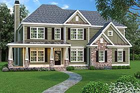 House Plan 72603 Elevation