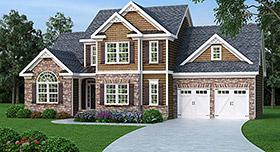 House Plan 72604 Elevation