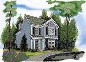 Plan Number 72605 - 1853 Square Feet