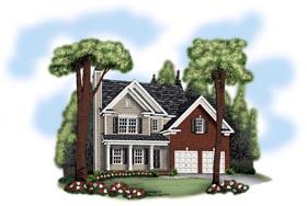 House Plan 72608 Elevation