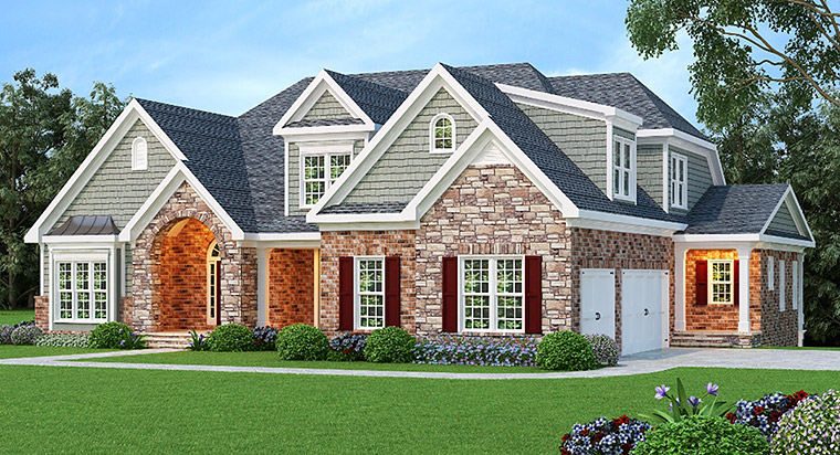 House Plan 72609 Elevation