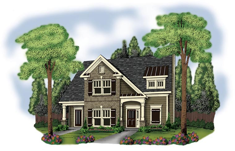 House Plan 72619 Elevation