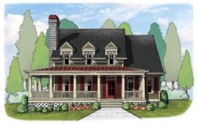 House Plan 72623 Elevation