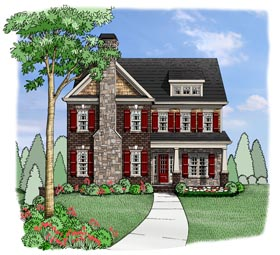 House Plan 72625 Elevation