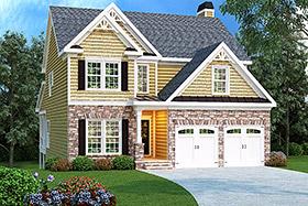 House Plan 72626 Elevation
