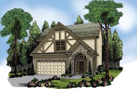 House Plan 72631 Elevation