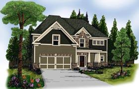 House Plan 72636 Elevation