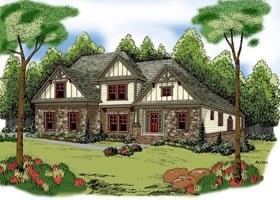 House Plan 72638 Elevation