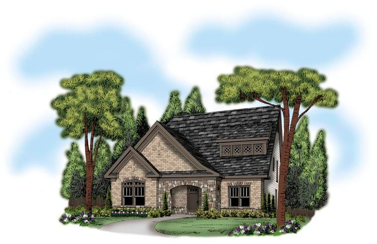 House Plan 72644 Elevation