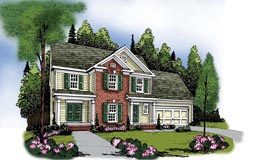 House Plan 72646 Elevation