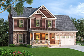 House Plan 72650 Elevation