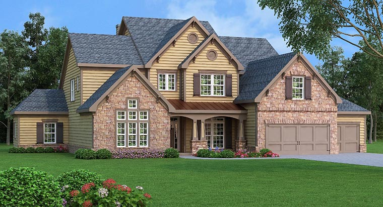 Craftsman Southern Traditional House Plan 72658 Elevation