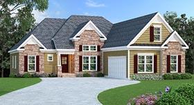 Craftsman Traditional House Plan 72663 Elevation