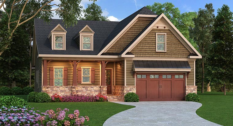 Bungalow Country Craftsman House Plan 72665 Elevation