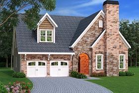 Craftsman European House Plan 72672 Elevation