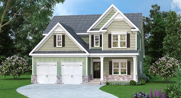 Traditional House Plan 72675 Elevation