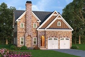 European Southern Traditional House Plan 72685 Elevation