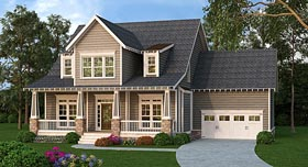Cape Cod Cottage Country Craftsman House Plan 72688 Elevation