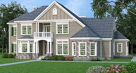 Plan Number 72690 - 2872 Square Feet