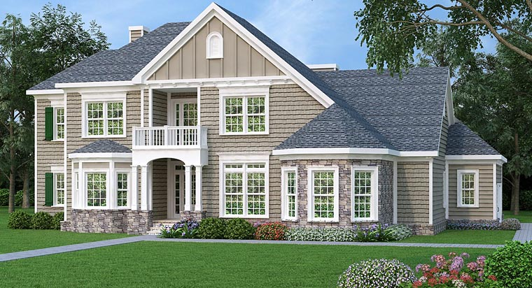 Southern Traditional House Plan 72690 Elevation