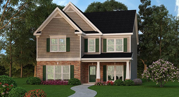 Traditional House Plan 72691 Elevation