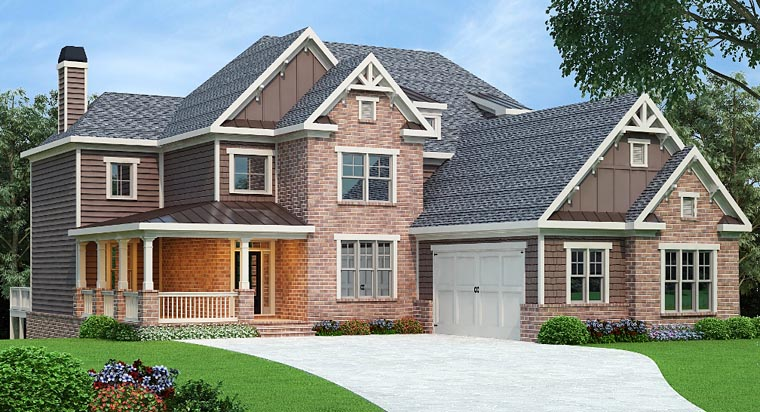 Southern Traditional House Plan 72692 Elevation