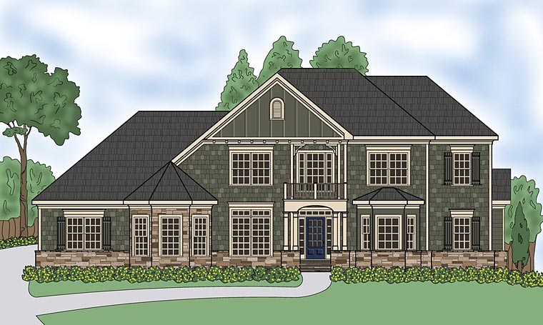 Traditional House Plan 72694 Elevation