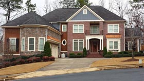 House Plan 72697 | Traditional Style Plan with 4274 Sq Ft, 4 Bedrooms, 5 Bathrooms, 3 Car Garage Elevation