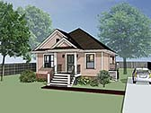 Plan Number 72700 - 1092 Square Feet