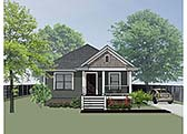 Plan Number 72701 - 1092 Square Feet