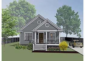 House Plan 72702
