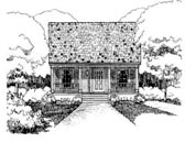 Plan Number 72703 - 1092 Square Feet