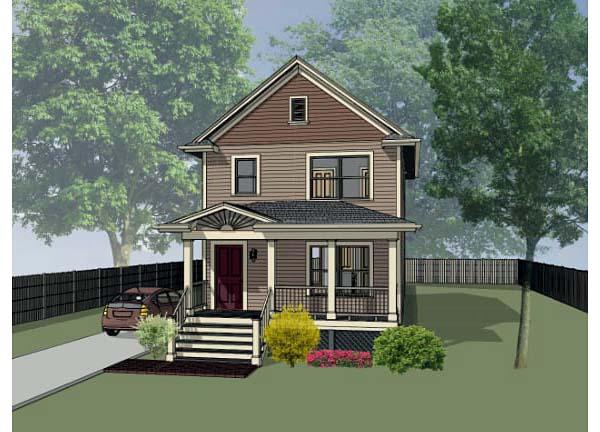 House Plan 72704