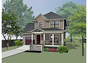 House Plan 72705