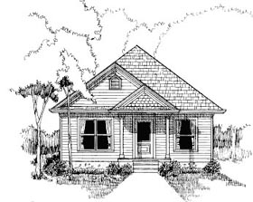 Plan Number 72706 - 1007 Square Feet