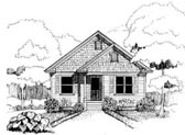 Plan Number 72711 - 1151 Square Feet
