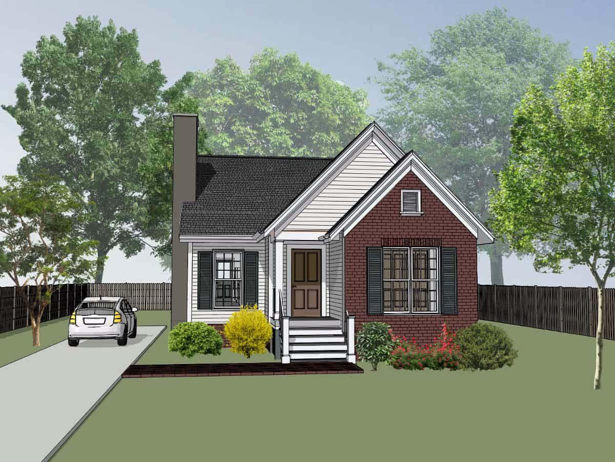House Plan 72714