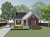 Plan Number 72714 - 1151 Square Feet
