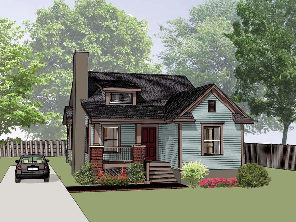 House Plan 72716