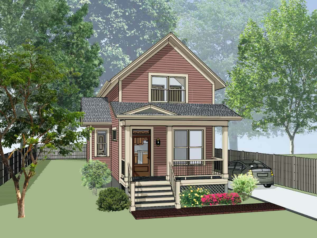 Bungalow House Plan 72721 Elevation