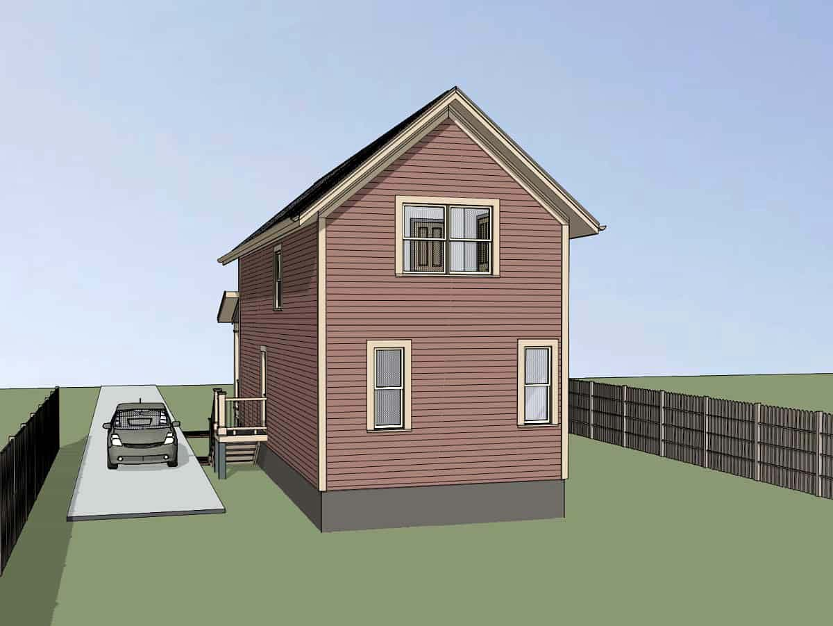 Bungalow House Plan 72721 with 3 Beds, 2 Baths Picture 1