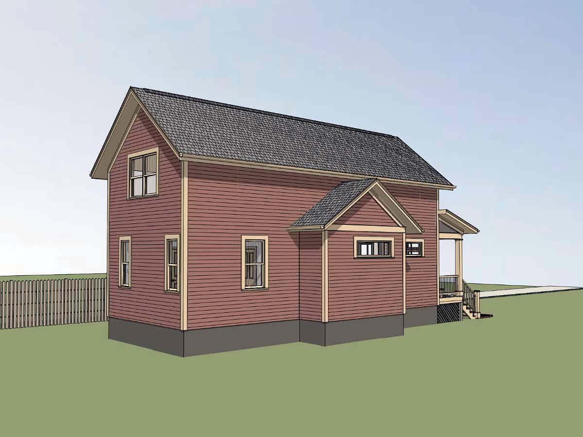 Bungalow House Plan 72721 with 3 Beds, 2 Baths Picture 2