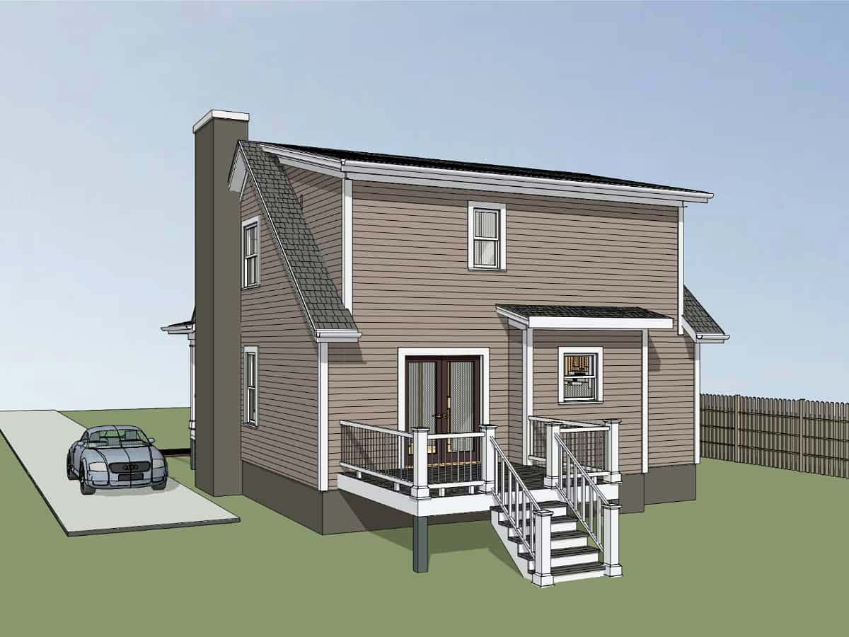 Bungalow House Plan 72722 with 3 Beds, 3 Baths Picture 1
