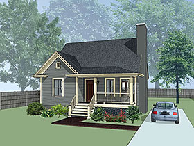 Bungalow House Plan 72723 Elevation
