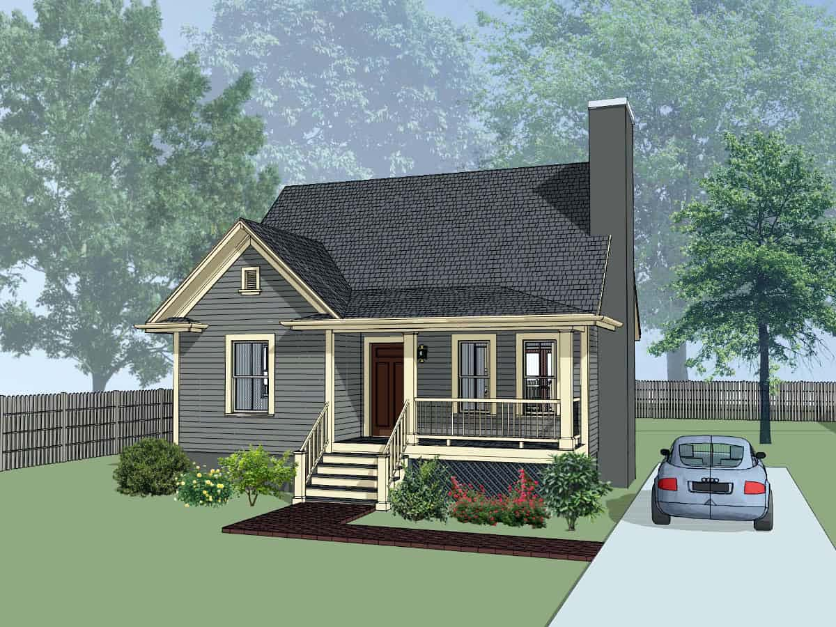 Bungalow House Plan 72723 Elevation