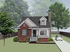 Bungalow House Plan 72724 Elevation