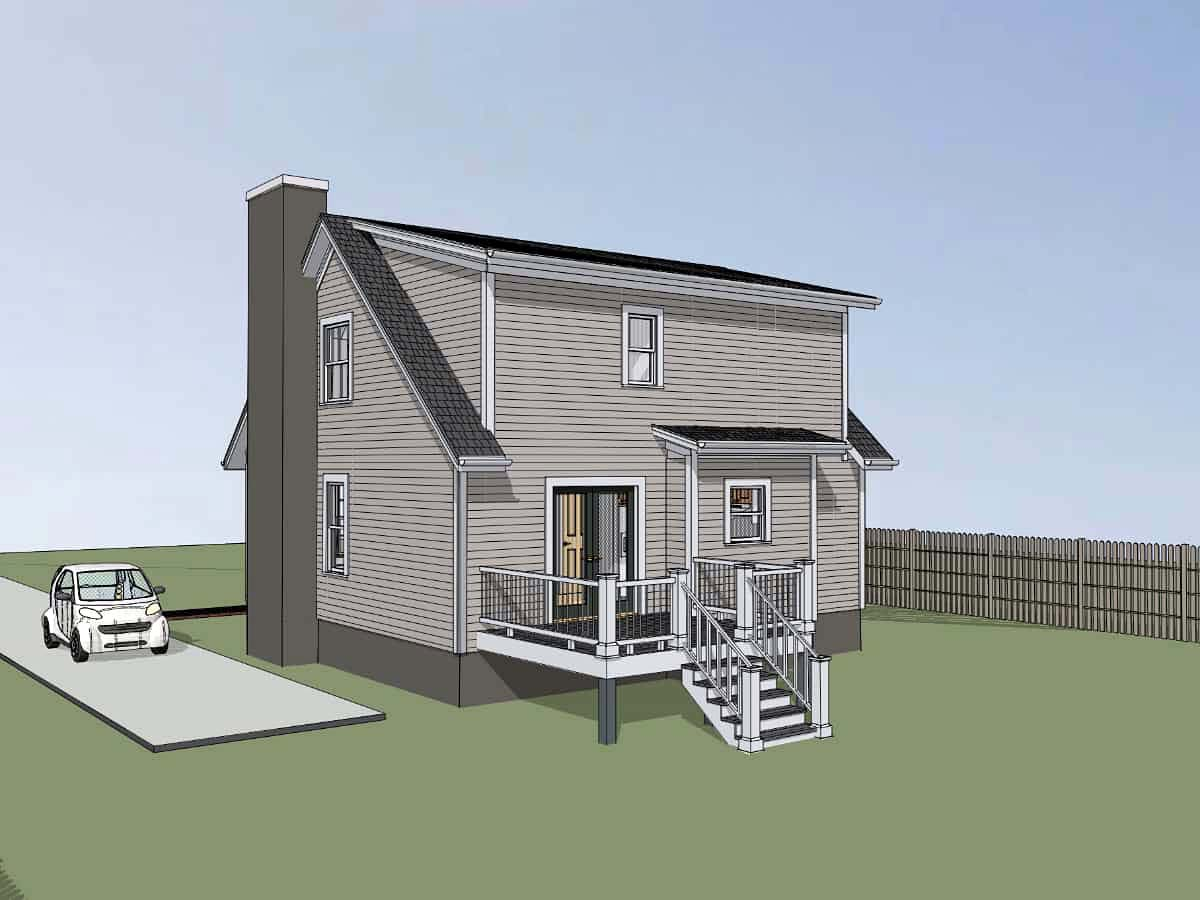 Bungalow House Plan 72724 with 3 Beds, 3 Baths Picture 1