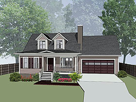 Bungalow House Plan 72725 Elevation