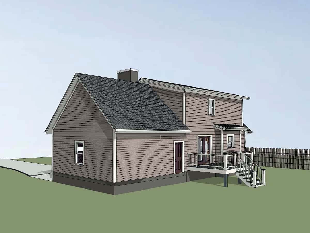 Bungalow House Plan 72725 with 3 Beds, 3 Baths, 2 Car Garage Picture 1