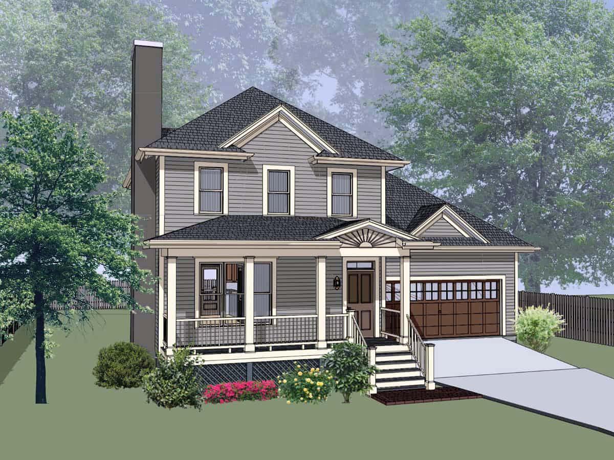 Bungalow House Plan 72730 Elevation